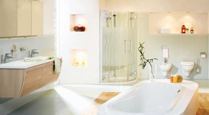 Применение технологий рехау при ремонте ванной